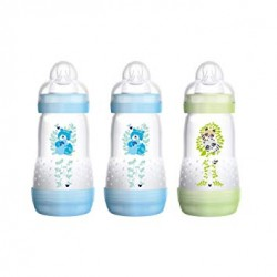 Lot de 3 biberons- 260 ml-Mam