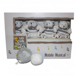 Mobile musical-ours-les chatounets